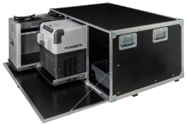 rent me: REARBOX® mit 32L Kühl- Gefrierbox